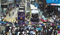 デモで都心の交通麻痺した香港、中国メディア「必要なら軍投入」