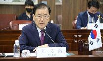 鄭義溶外交部長官「中国の攻勢的な外交は当然」、米国で議論