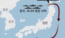 中露艦艇10隻が5日間、日本を包囲するように航海