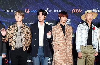 BTS、1年ぶりに日本のテレビ番組に出演