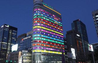 ビュラン作の東亜メディアセンターの「韓国の色」が世界的建築誌に紹介