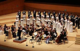ソウル・モテット合唱団が披露する「慰めの歌」