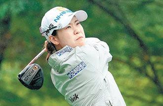 パク・ミンジが暫定首位、初のメジャー優勝はなるか 韓国女子オープン2日目