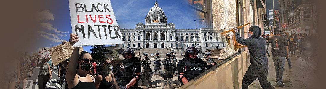美 흑인사망 시위 격화