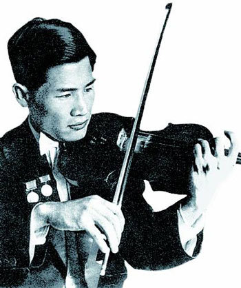 Sad Violin : The DONG-A ILBO