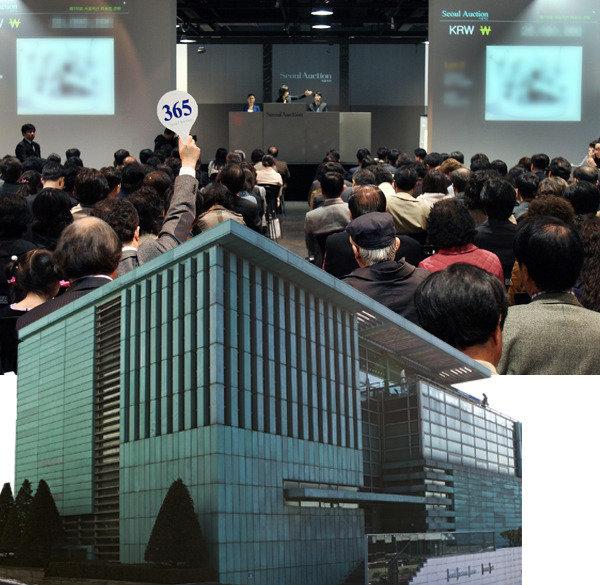진위 의혹 이우환 그림 서울옥션 홍콩경매에서 팔렸다