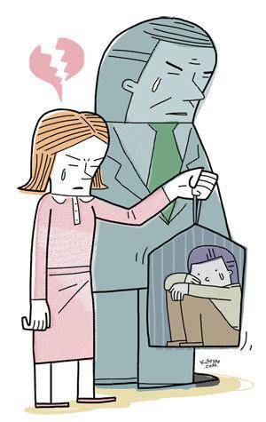 '팥쥐 계모'의 심리 남인데 남이 아니라  학대한다