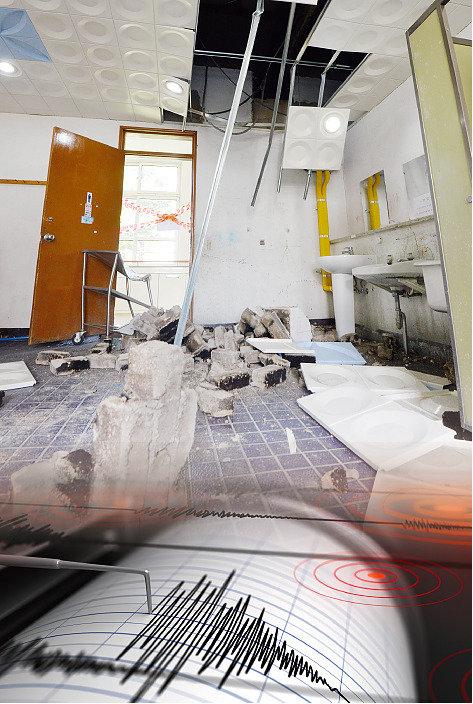 거칠고 신선한 단층 잠복, 중대형 지진 위험 상존