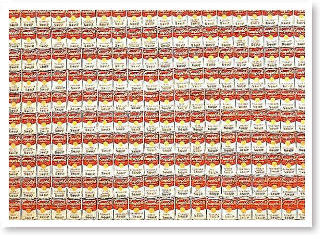 앤디 워홀 - 200개의 수프 깡통 8명의 엘비스