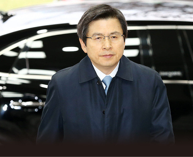"""""""봉황 자리에서 일하시길 앙망""""〈총리실 민정팀〉 """"사람 앞날 알 수 없지"""" 〈黃〉"""