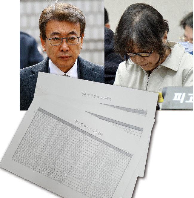 미공개 崔 부동산 확인 은닉재산 논란 확산