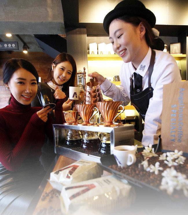 다방 지고 '문화공간' 뜨고… 커피전문점 춘추전국시대