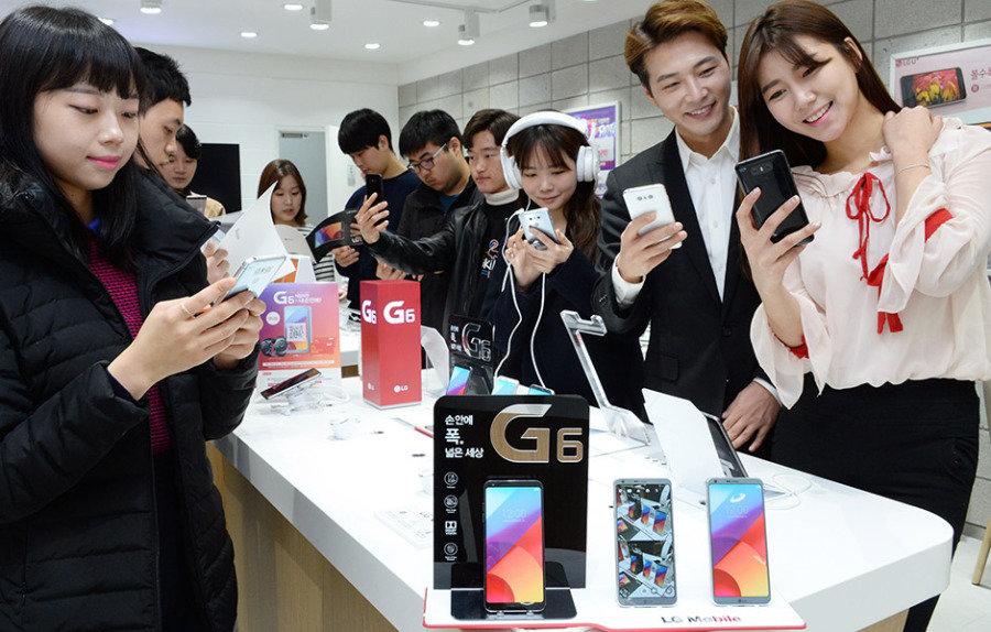 해외 언론 극찬 이어진  프리미엄스마트폰 LG G6