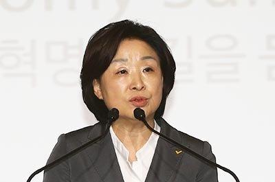 """심상정 정의당 후보  """"재벌3세 세습 금지,  박근혜 사면은 없다"""""""