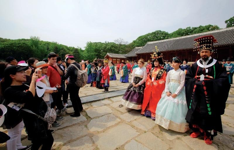 4대 궁과 종묘에서 열린 궁중문화축전