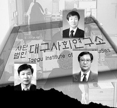 대구사회연구소는 '노무현 정권' 비밀 싱크탱크?