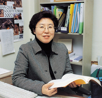 '한국여성의전화연합' 상임대표 박인혜