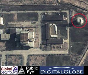 대포동미사일 시험발사, 재처리시설 재가동이 미국의 레드라인