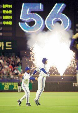 '국민타자' 이승엽과 야구전문기자의 6년 교유기