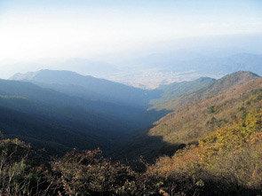 바람, 雲海, 심산계곡  '달력속의 풍경'