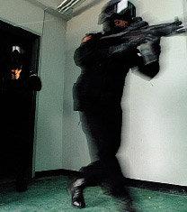 철통 경비 對테러 특공대