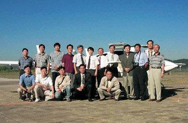 지구왕복비행 나서는 경비행기 개발한 한국항공우주연구원 연구진