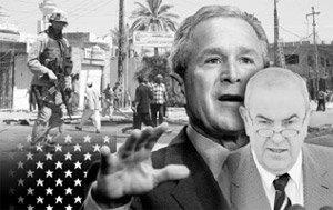 임시정부 출범, 수렁에 빠진 이라크