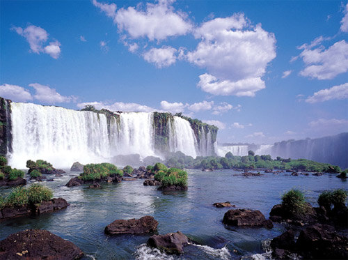 숨마저 멎게 하는 '지상 최대의 쇼' 남아메리카 이과수폭포