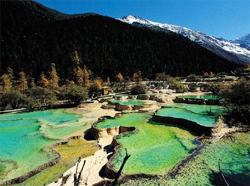 떠오르는 관광명소 中쓰촨성 주자이거우 & 황룽