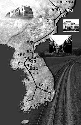 정부, 시베리아 횡단철도 연결노선으로 '청년이천선' 내정