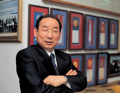 '신지식인' 선정된 (주)진생사이언스 대표 김복득