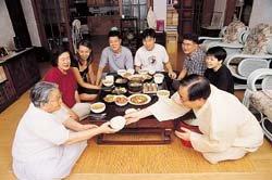 권영길 민주노동당대표의 병어조림