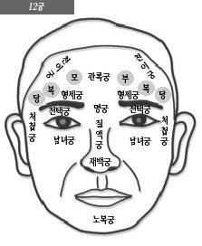 아래 눈꺼풀은 남녀궁(男女宮), 눈꼬리는 처첩궁(妻妾宮)