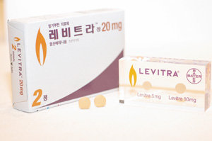 경구용 발기부전 치료제 '레비트라'