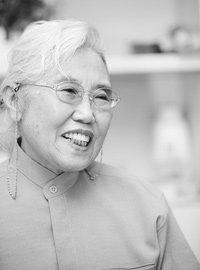 중국 팔로군 출신 기공 연구가 윤금선