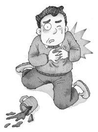 마비 직전… 중년 심장을 구하라!