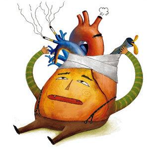 長壽의 핵, 심장을 지킵시다!