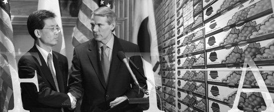 한미 FTA 몰아붙이는 미국의 노림수