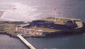 남북전쟁의 도화선,  사우스캐롤라이나 섬터 요새