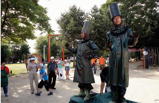 '환상 市' 춘천의'마임축제 2006'