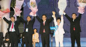 '朴-李 전초전' 한나라당 전당대회 밀착취재기
