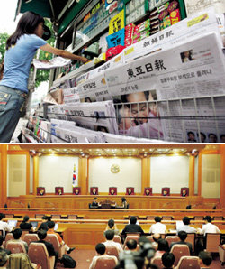 헌법재판소 신문법 판결 유감
