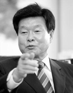2007년 대선 '최대 변수'? 민주당 한화갑 대표