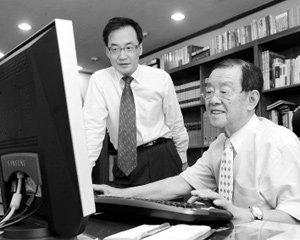 일본 와코사 니시다 야스마루 회장&에넥스 박유재 회장