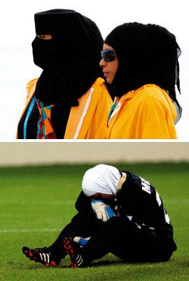 도하  아시안게임  수놓은  히잡  패션