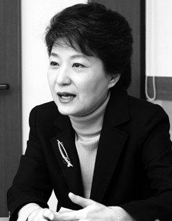'수첩' 대신 '비전' 들고 나선 박근혜 전 한나라당 대표