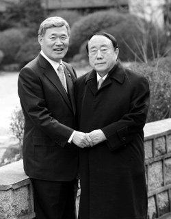 이관진 샤프전자 회장 & 류덕희 경동제약 회장