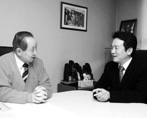 김장환 극동방송 사장 & 남경필 한나라당 의원