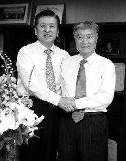 권이종 한국교원대 명예교수 & 문상주 한국학원총연합회장