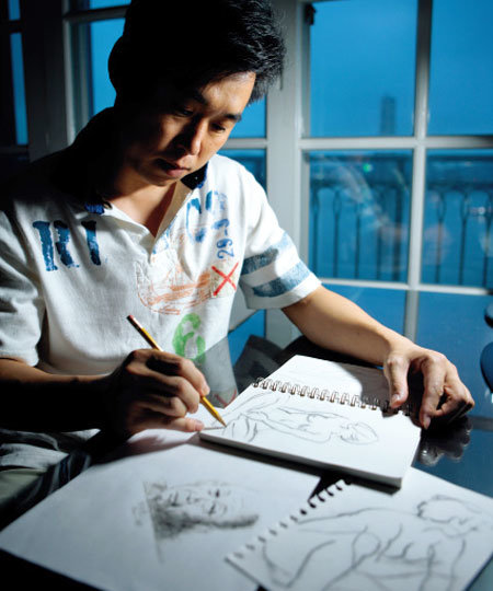 BDA 한국지사장 김한수 - 그림 그리기